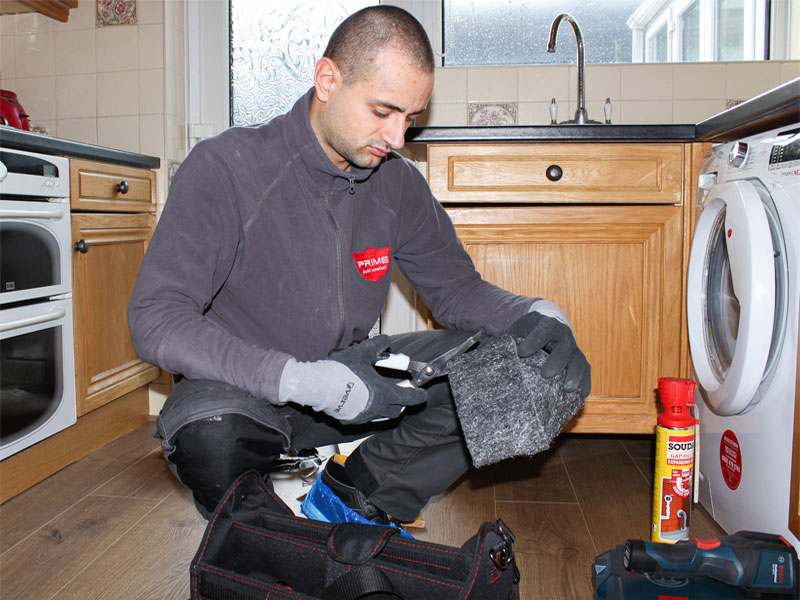 Prime Pest Control performing proofing against rodents