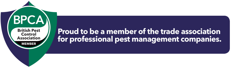 Prime Pest Control badge for membership with the BPCA